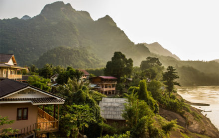 Nong Khiaw est un des villages les plus charmants du Laos